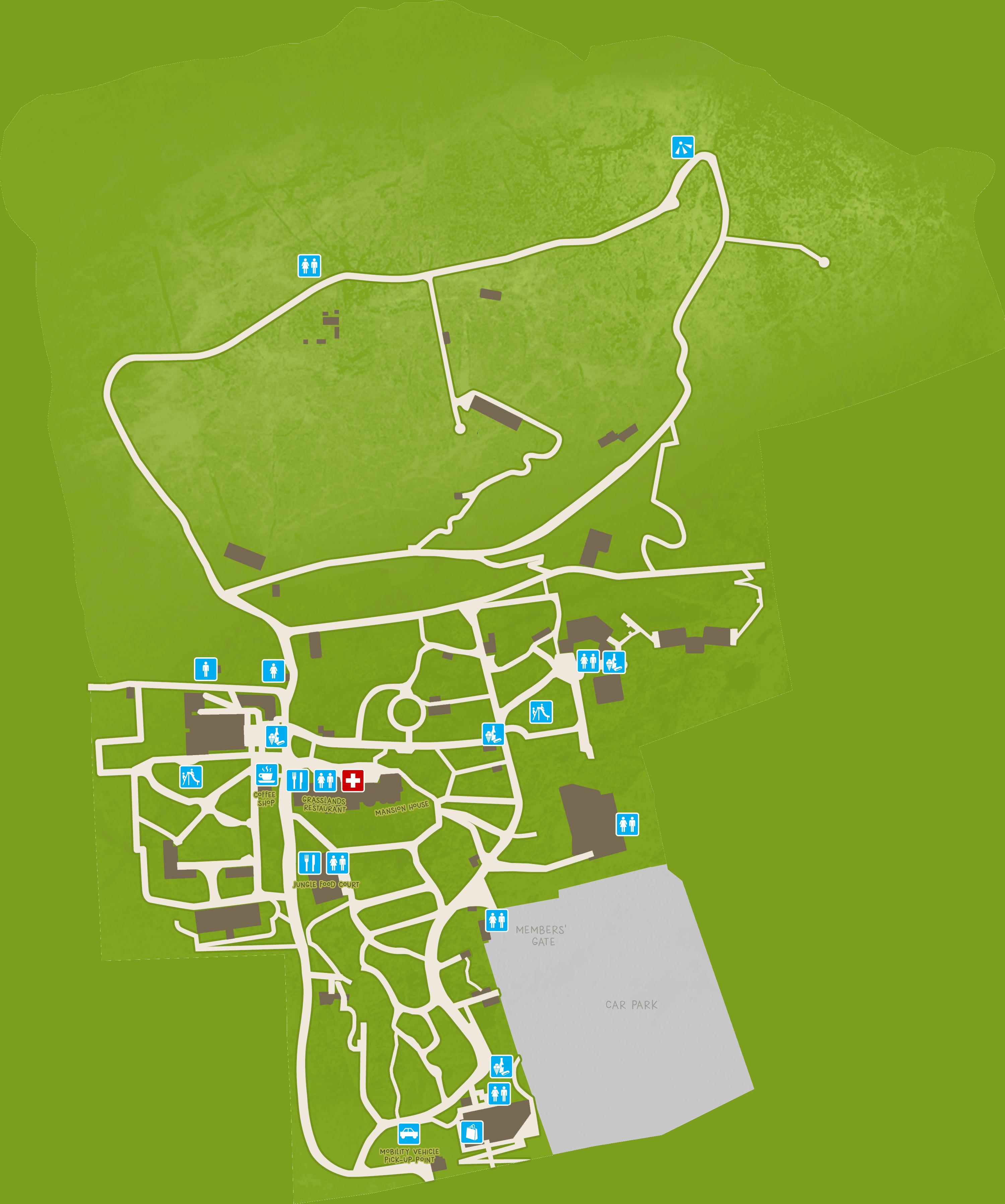 Map Edinburgh.Zoo Map Edinburgh Zoo