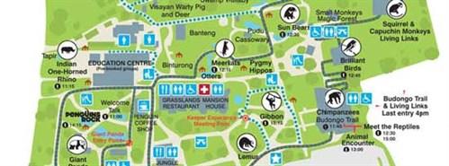 Getting around |RZSS Edinburgh Zoo | Edinburgh Zoo on