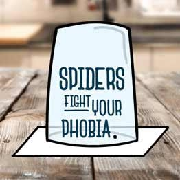 Spiders: Fight your phobia