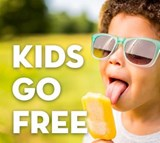Edinburgh Zoo promotions - kids go free with ScotRail