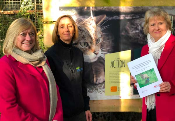 IUCN Cat Specialist Group wildcat report launch at RZSS Highland Wildlife Park
