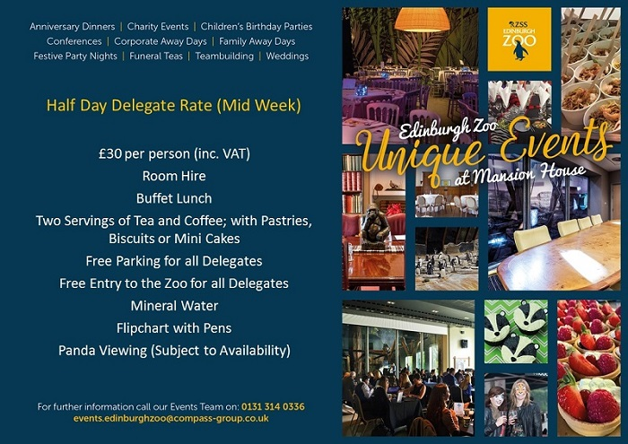 Half Day Delegate Rate Visual