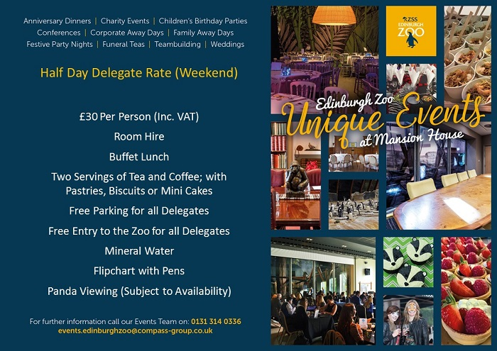 Half Day Delegate Rate Weekend Visual